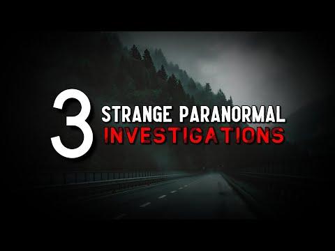 3 historias reales de investigación paranormal
